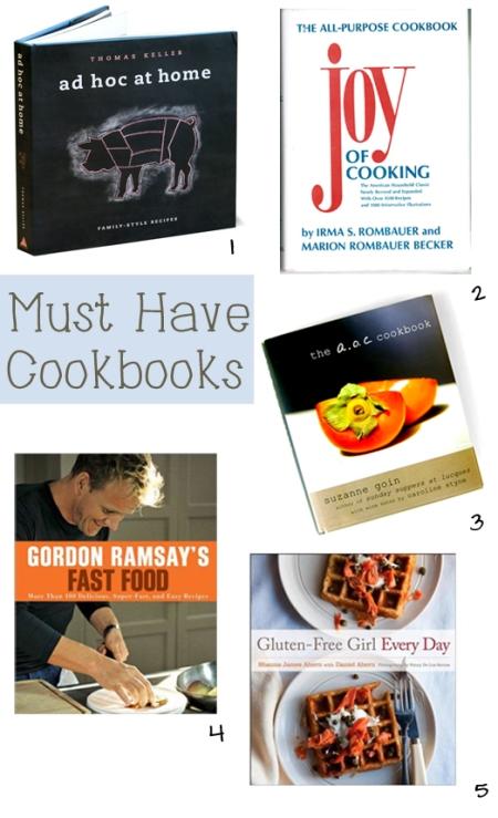 Cookbooks copy