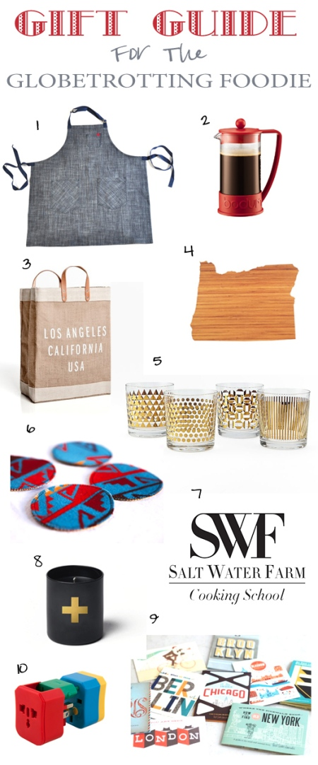 Gift Guide Globetrotting Foodie